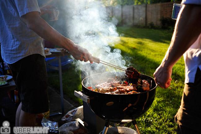 Grillen Garten Rauch Nikon 35 2 Nikkor
