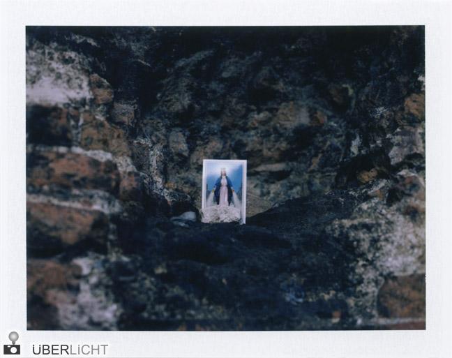 Heiligenbild Polaroid 600 SE Typ 100