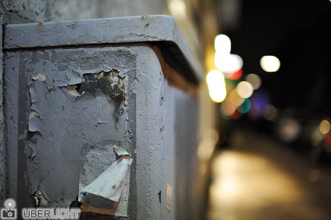 Nikon 35 1,4 Nikkor D700 Nacht Strasse Muenchen Lichter Bokeh