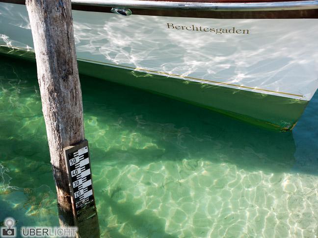 Panasonic Lumix GF2 Boot Wasser Koenigssee Berchtesgaden
