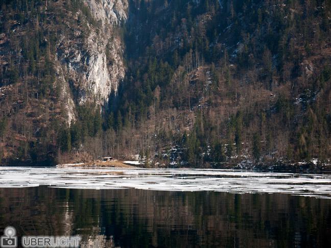 Panasonic Lumix GF2 14-42 Koenigssee Eis Wasser Alm