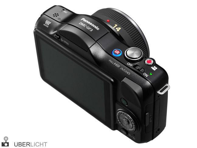 Panasonic Lumix GF3 14mm 2,5 hinten back