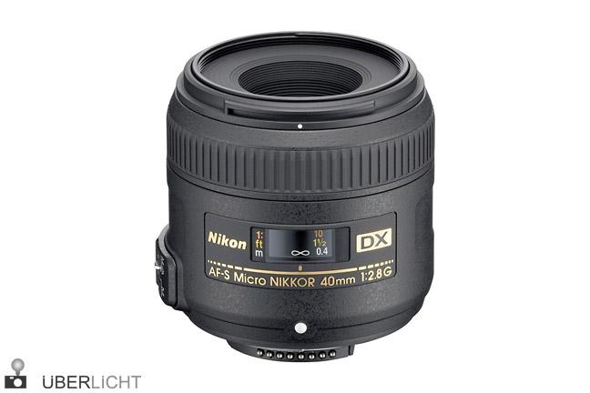 Nikon DX 40 mm 2,8 G AF-S Micro Nikkor
