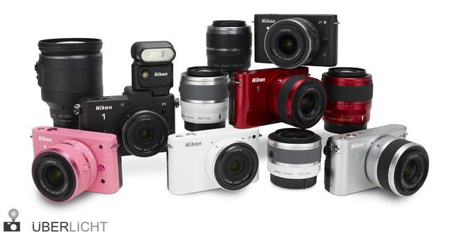 Nikon 1 Produktfamilie