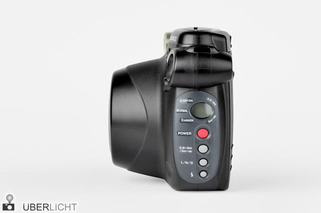 Fujifilm Instax 210 Instantkamera Sofortbild Seitenansicht