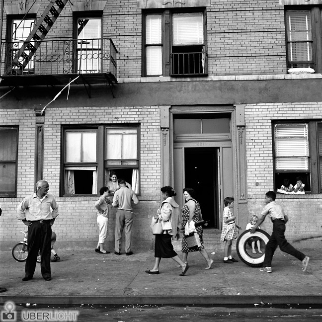 Vivian Maier Maloof Collection Amerika Haus Straßenszene