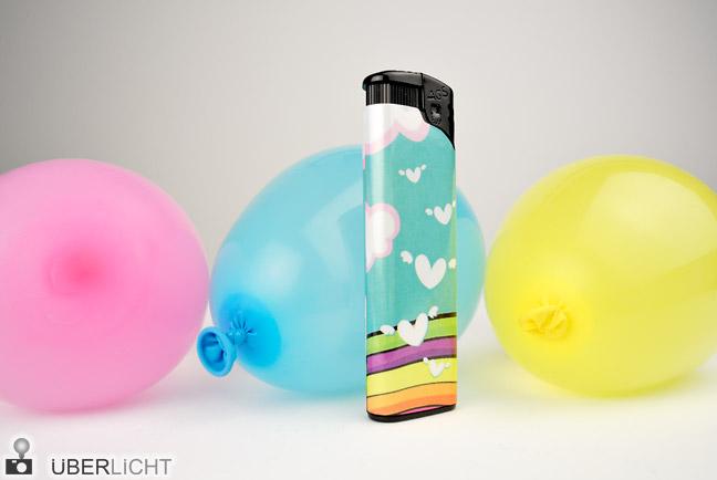 Nikon 1 V1 Nikkor 10 2,8 Makro Feuerzeug Ballons