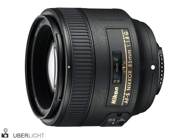 Nikon AF-S Nikkor 85 mm 1,8 G