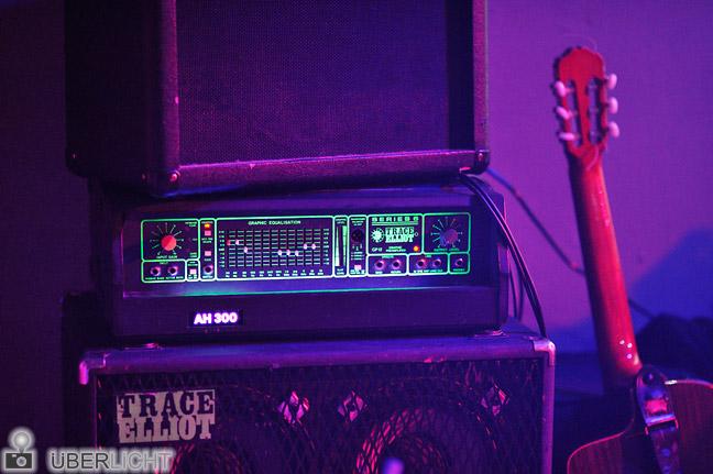 Walimex pro 85/1,4 Verstärker Gitarre Club Konzert