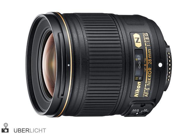 Nikon AF-S Nikkor 28mm 1:1,8G Weitwinkelobjektiv