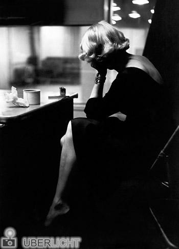 Eve Arnold Marlene Dietrich 1952 Hommage Versicherungskammer Bayern