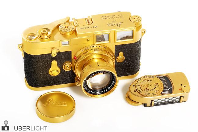 Leica M3 von Leitz vergoldet