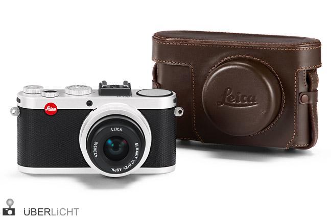 Leica X2 silber frontal Bereitschaftstasche