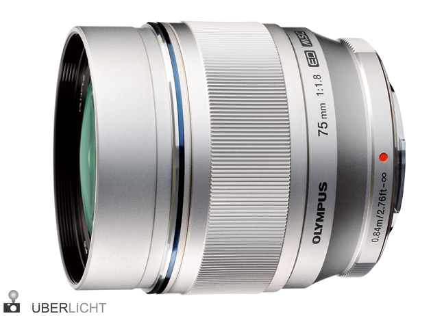 Olympus M.Zuiko Digital ED 75mm 1:1.8 Pen Objektiv