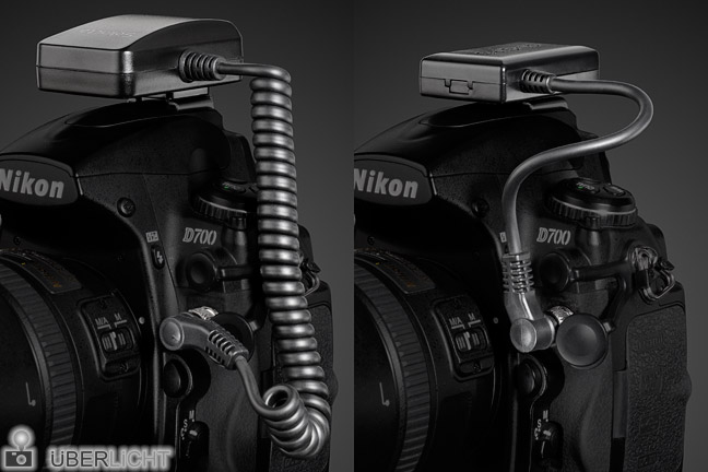 Geotagger Foto-GPS Solmeta N3-A und Dawntech M3-DC-S3 an Kamera Nikon D700