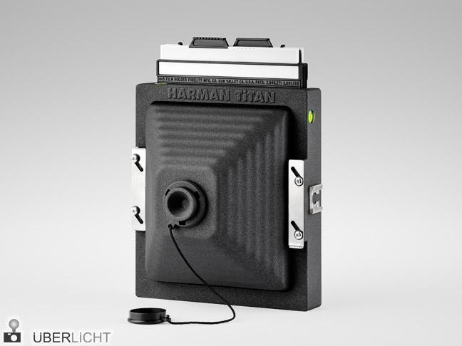 Harman Titan Lochkamera Pinhole Camera Obscura 4x5 Planfilm