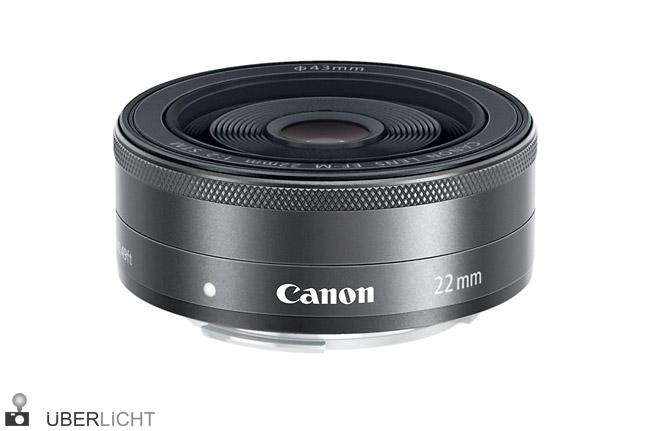 Canon EF-M 22mm 1:2 STM Pancake-Objektiv EOS
