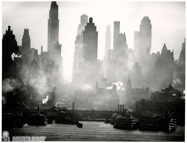Andreas Feininger 42nd Street View Ausstellung New York Photography 1890-1950