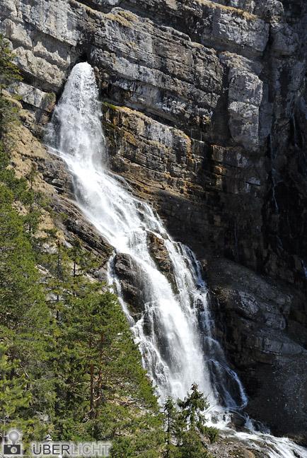 Nikon 1 NIKKOR VR 30-110 mm, Wasserfall in den Alpen