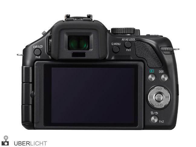 Panasonic Lumix G5 Rueckseite mit Display