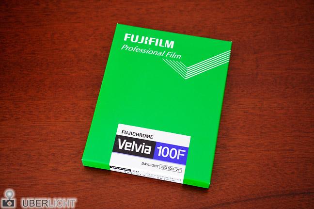 Fujichrome Velvia 100F von Fujifilm wird eingestellt discontinued