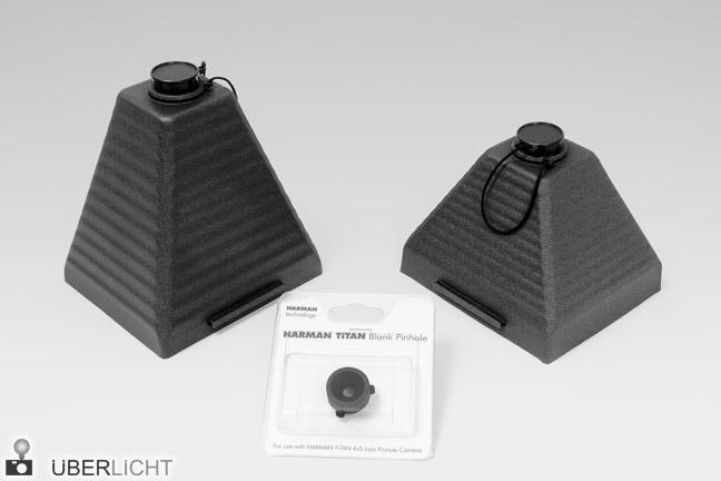 Ilford Harman Titan 4x5 Konus 110 mm und 150 mm