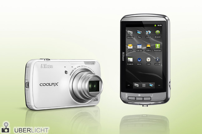 Nikon Coolpix S800c Android-Kamera mit WLAN