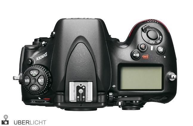 Nikon D800E Oberseite Bedienelemente