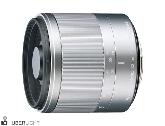 TOKINA Reflex-Objektiv 300 mm f/6,3 in Silber