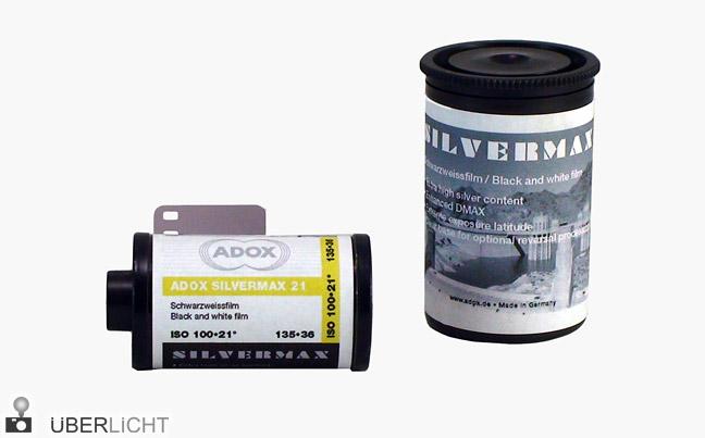 ADOX SILVERMAX SW-FIlm mit viel Silber