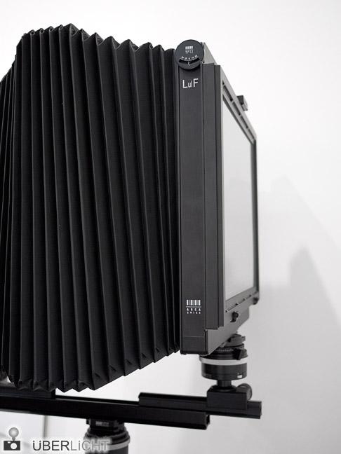 Arca-Swiss LulF Großformat-Kamera 11x14 Inch auf der Photokina