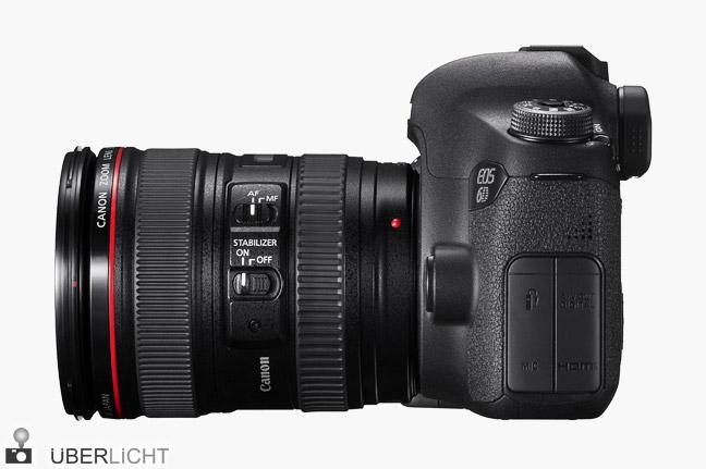 Canon EOS 6D Spiegelreflex-Vollformat-Kamera mit EF 24-105 mm 1:4 L IS USM