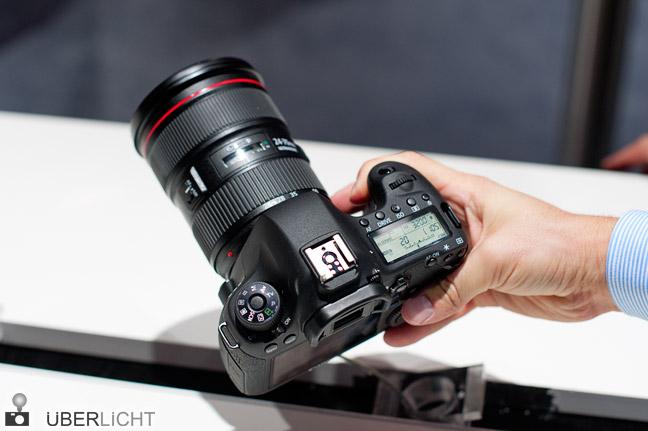 Canon EOS 6D Vollformat-DSLR auf der Photokina