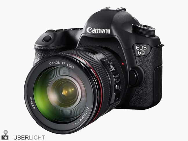 Canon EOS 6D Vollformat-Kamera mit Objektiv EF 24-105 mm L