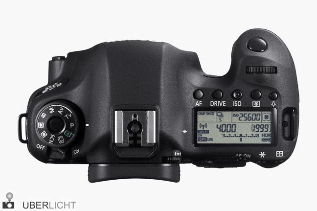 Canon EOS 6D Vollformat-Kamera mit WiFi und GPS