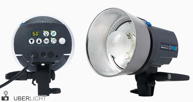 Elinchrom D-Lite RX ONE Kompaktblitz mit Reflektor