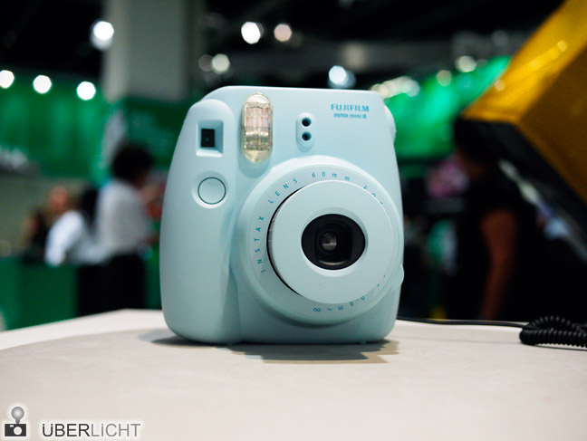 Fujifilm instax mini 8 in hellblau Sofortbildkamera