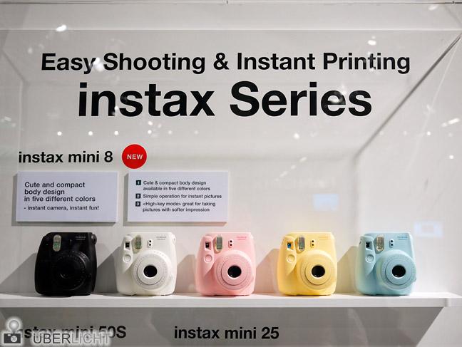 Fujifilm Instax mini 8 in allen Farben