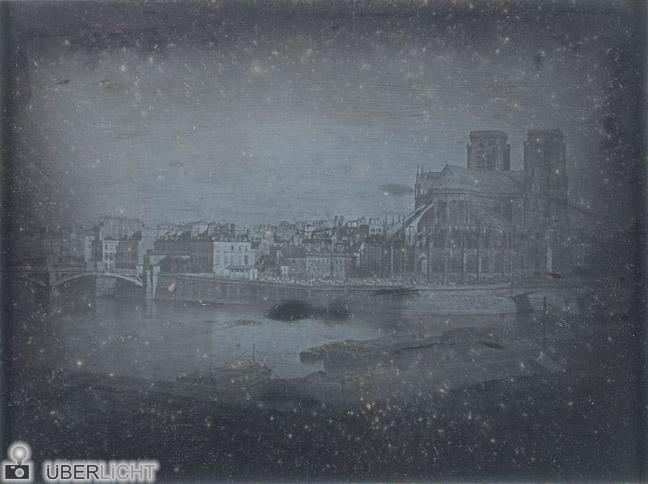 Daguerre Notre Dame 1838 Daguerrotypie Gernsheim Collection Ausstellung