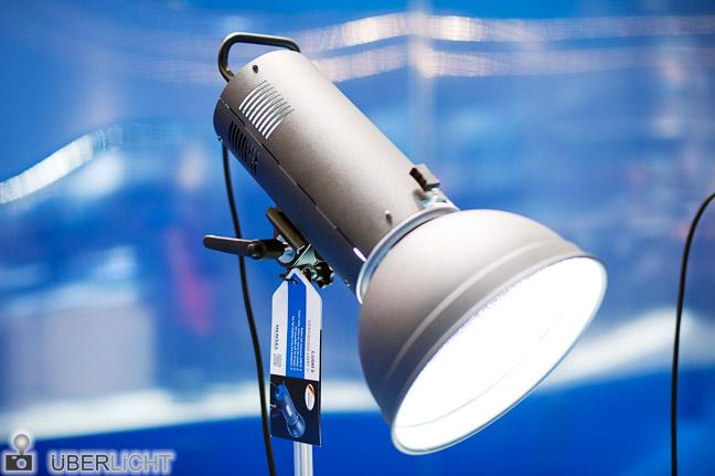 Hensel C-Light D Dauerlicht Tageslicht 6000 K auf der Photokina