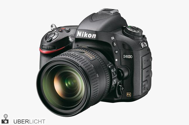 Nikon D600 mit AF-S NIKKOR 24-85 VR