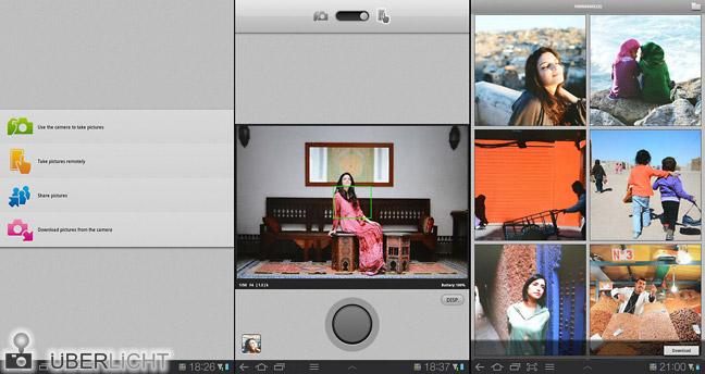 Tablet-App für Nikon WU-1b zur Fernsteuerung der Nikon D600