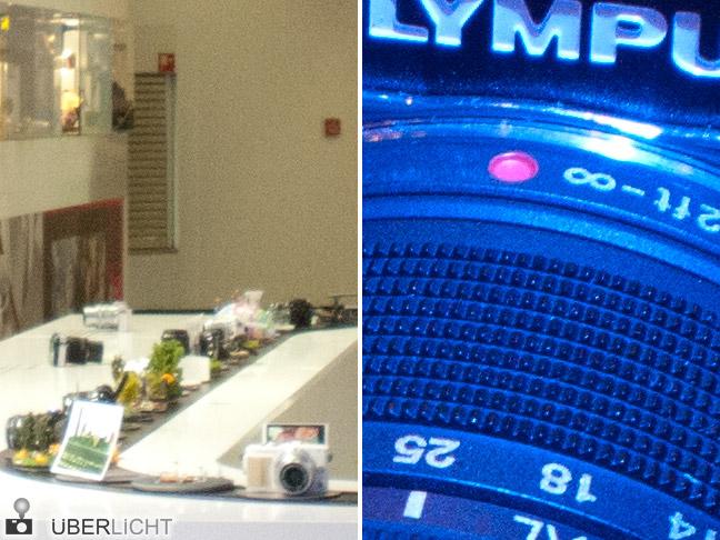 Olympus Body Cap Lens 15 mm 1:8 Test-Bilder des mft-Objektivs im Gehaeusedeckel