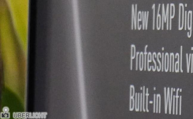 Panasonic Lumix GH3 Testmotiv bei ISO 1600