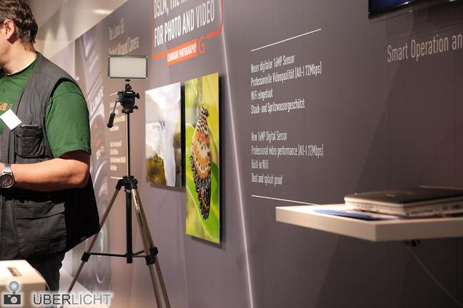 Testmotiv für die Panasonic Lumix GH3 auf der Photokina