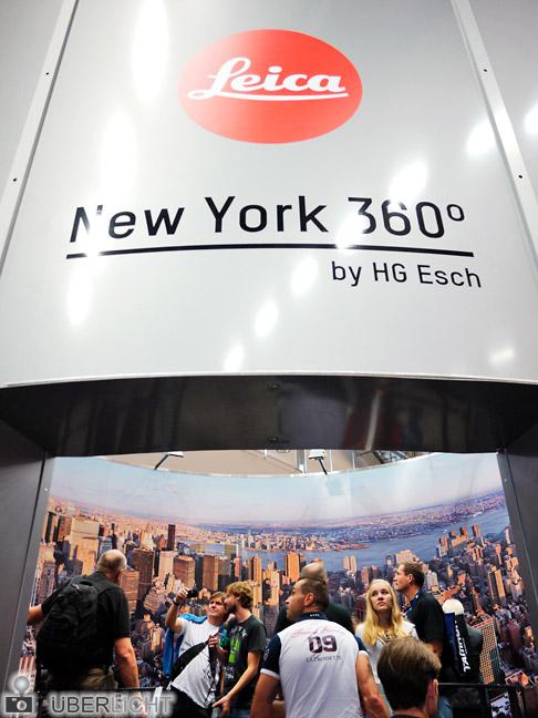 Photokina 2012 Austellung Leica New York 360° von HG Esch