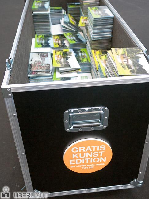 Photokina kurios: White Wall verschenkt Gratis-Kunst-Edition