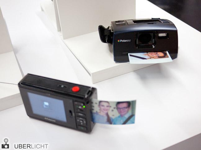 Polaroid Instant Digital Camera Z2300 und Z340 auf der Photokina