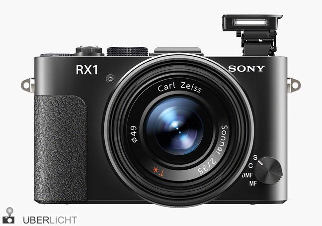 Sony DSC-RX1 Kompaktkamera mit Blitz und Vollformat-Sensor