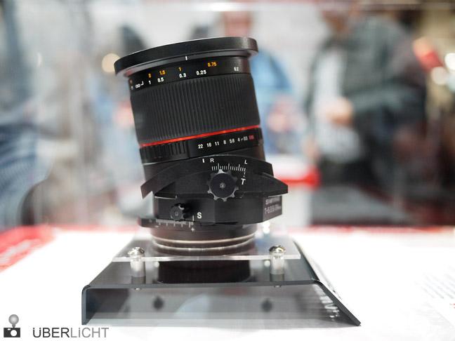 Samyang Tilt-Shift 24 mm 3,5 auf der Photokina 2012